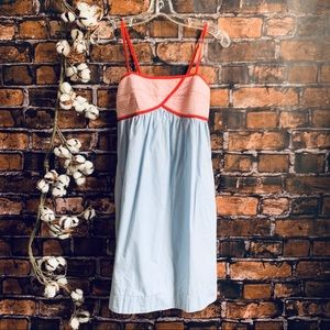 Anthropologie Lilka Quilted Bodice Sundress